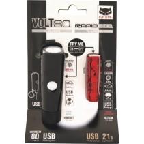 Cateye Volt 80 Rapid Light Combo Kit