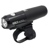 Cateye Volt 400 Bike Front Light + Fast Charge Cradle + Cartridge Battery