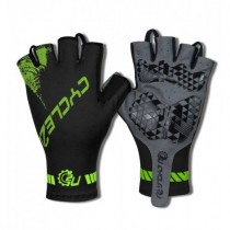 Cycle2U Slide-On Half Finger Cycling Gloves