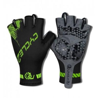 Cycle2U Slide-On Half Finger Cycling Gloves