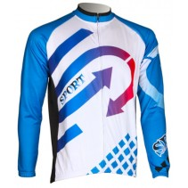 Roswheel Mens Long Sleeve Cycling Jersey