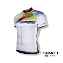 Spakct Designer Short Sleeve Cycling Jersey