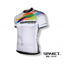 Spakct Designer Short Sleeve Cycling Jersey
