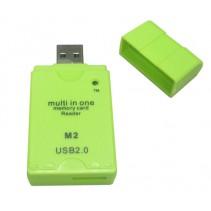 Multi in One Memory SD Card Reader USB2.0