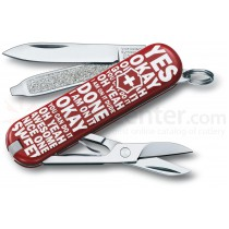 """Victorinox Classic Limited Edition """"Flip To Decide"""""""