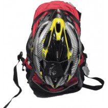 Cyclist Backpack with Helmet Combo