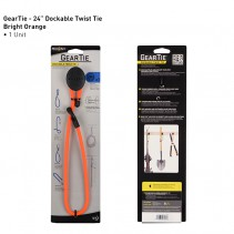 NiteIze Gear Tie Dockable  24""