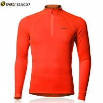 Spakct Fluorescent Long Sleeve Cycling Jersey