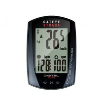 Cateye Strada Digital Wireless Computer + Cadence + Heart Rate Sensor