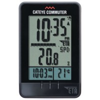 Cateye Commuter Wireless Cycle Meter CC-COM10W