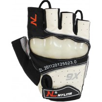 Nylita Knuckle Protector Half Finger Cycling Gloves