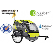 Puulter Child Bicycle Trailer Baby Carriage