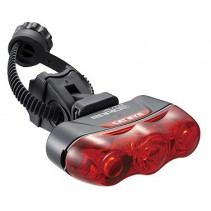 Cateye Rapid 3 Auto Bicycle Tail Light