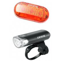 Cateye Combo Front Light HL-EL135 and Tail Lights Omni3
