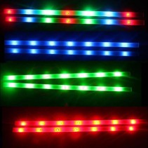 Decorative 14 LED Bike Frame Light Strips