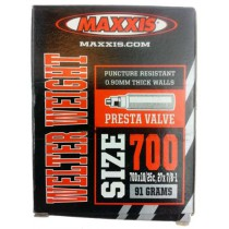 Maxxis Welter Weight Road Bike Inner Tube 700 x 18/25c Presta Valve