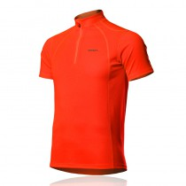 Spakct Fluorescent Short Sleeve Cycling Jersey