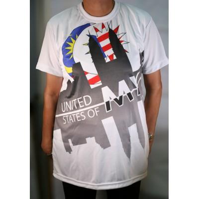 United Malaysia Dryfit Shirt
