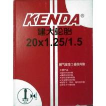 Kenda  20 x 1.25/1.5 inner tube FV (Presta valve)