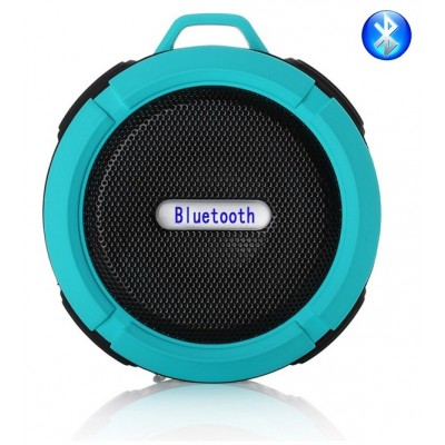Portable Bluetooth Clip-On Outdoor Speaker