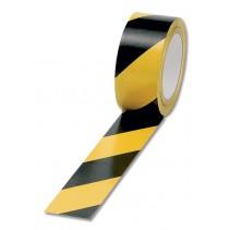 Yellow and Black Adhesive Floor Tape