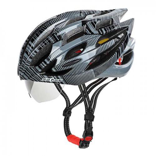 On Sale Sahoo Bike Helmet With Sunglasses Rm129 90