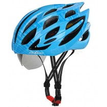 Sahoo Bike Helmet with Sunglasses