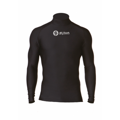 Spin Sports Turtle Neck Long Sleeve Top