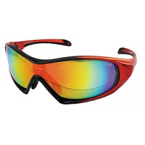 IDEAL Sunglasses 8907 Orange (REVO Red Mirror)