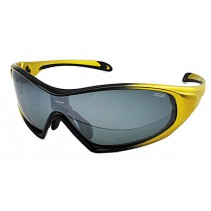 IDEAL Sunglasses 8907 Yellow (Silver Mirror)