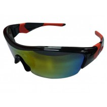 OAKLEY Sunglasses 9030 Black-Red (REVO Red Mirror)