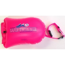 Safe Swim Float Buoy - 20L Dry Bag Pink