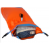Safe Swim Open Water Buoy with Water Bottle Compartment (Orange)