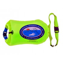 Swim Buoy by SaferSwimmer™ with 20L Dry Bag (Green color)
