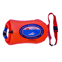 Safe Swim Float Buoy - Dry Bag 20L Orange
