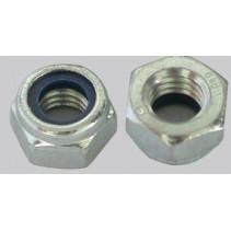 Nylon Insert Hex Nuts (Self Locking) 5mm