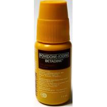 Povidone-Iodine Betadine Travel Size Antiseptic Solution