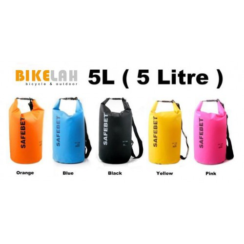 On Sale Safebet Waterproof Dry Bag 5 Litres Rm59 90
