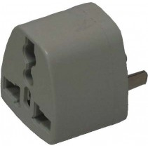 2 Flat Pin Travel Power Adapter Plug
