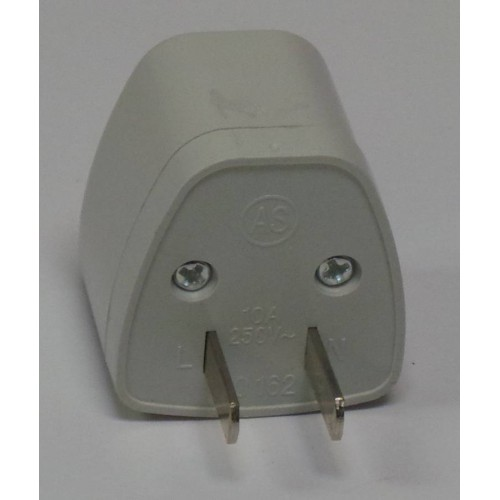 2 Flat Pin Travel Power Adapter Plug Rm7 00 Bicycle