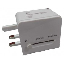 Universal Travel Adapter Double USB
