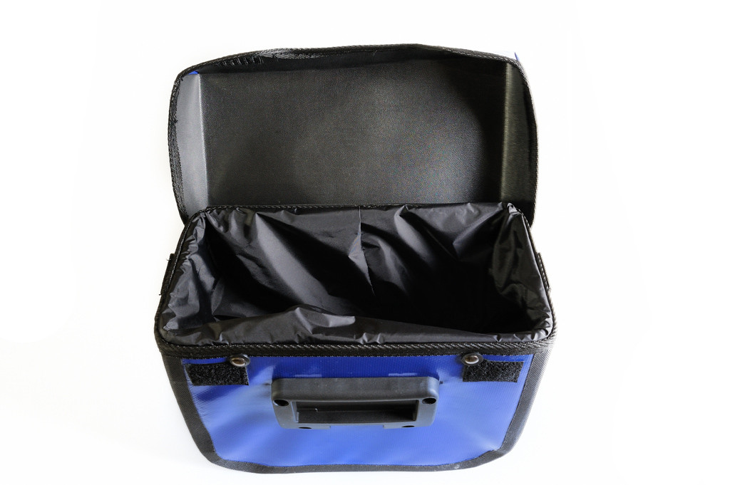 Touring Handlebar Bag Open
