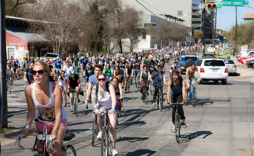 Cities Where People Cycle Are Healthier & Richer
