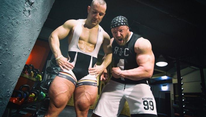 Cyclist Gym Legs