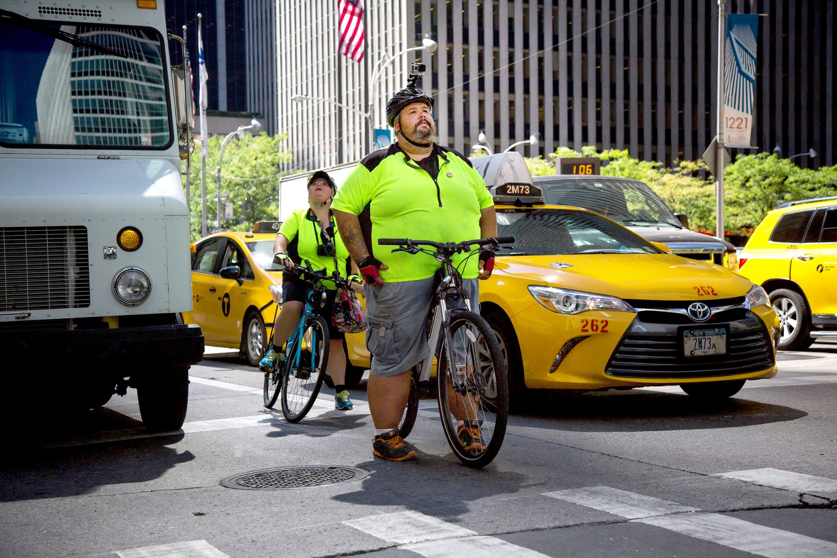 Fat Man Takes On America (By Bike)