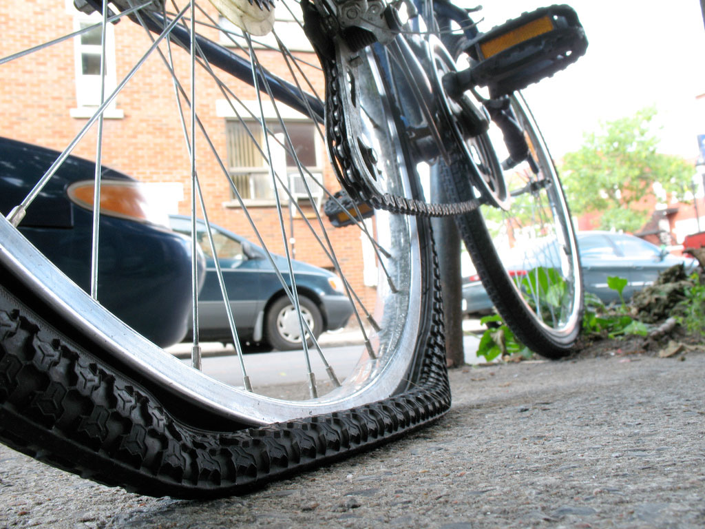 How To Prevent a Flat Tyre