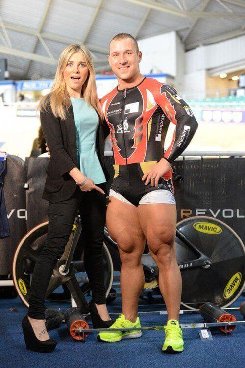 Track Cyclist Legs