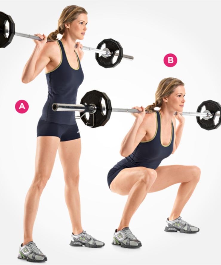 Women Squat