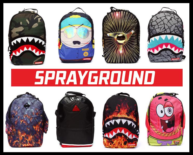 Sprayground Backpacks Logo