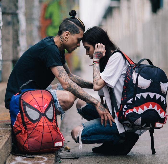 Spiderman Venom Backpack